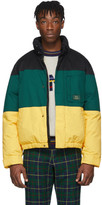 Woolrich Aime Leon Dore Black and Green Down Edition Jacket