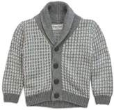 Sovereign Code Sovereign CodeTM Shawl Collar Cardigan in Grey/White