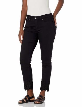 Slim Sation SLIM-SATION Women's Contour Band 5 Pocket Jean Style Ankle Pant
