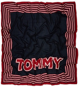Tommy Hilfiger Stripe Patch Square Scarf