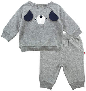 M·A·C MAC AND MOON Mac And Moon Dog Boys 2-pc. Baby Clothing Set