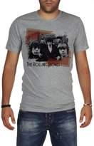Palalula Men's Music Rolling Stones Mick Jagger Tribute T-Shirt XXXL Grey