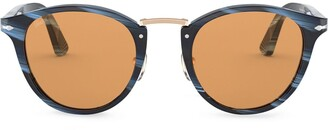 Persol Marbled Frame Sunglasses