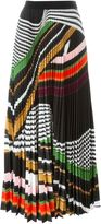 Mary Katrantzou 'Pelar' pleated maxi skirt - women - Polyester - 12