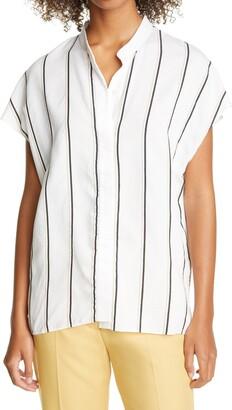 Nordstrom Signature Stripe Dolman Sleeve Shirt
