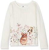Fat Face Girl's Doormouse Long Sleeve Top
