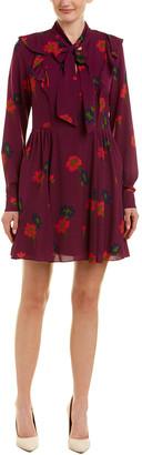 Tanya Taylor Silk Mini Dress