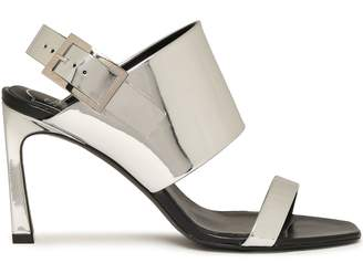 Roger Vivier Mirrored-leather Sandals