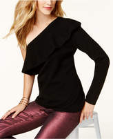 Charter Club One-Shoulder Cashmere Sweater, Created for Macy's