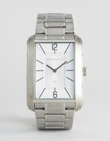 French Connection Quartz Watch With Silver Bracelet