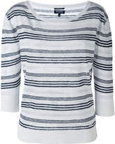 Woolrich striped knitted top
