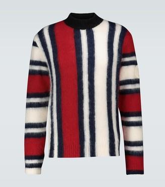 MONCLER GENIUS 2 MONCLER 1952 mohair crewneck sweater
