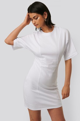 NA-KD Fitted T-shirt Dress