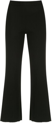 OSKLEN Flared Cropped Trousers