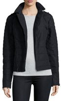 Sorel Asymmetric Quilted Conquest Carly Moto Jacket, Black
