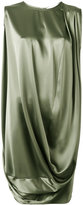 Gianluca Capannolo draped dress - women - Polyester/Triacetate - 42