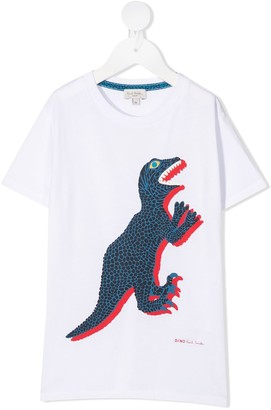 Paul Smith dinosaur print T-shirt