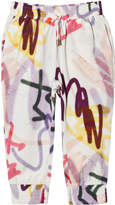 Molo Graffiti Print Abbey Trousers