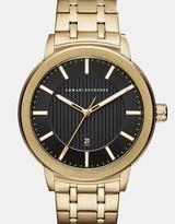 Armani Exchange Maddox Gold-Tone Analogue Watch