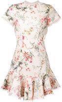 Zimmermann floral print crisscross back dress
