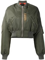 R 13 reversible bomber jacket