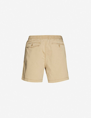 Polo Ralph Lauren Logo-embroidered cotton shorts