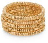 Saks Fifth Avenue Mesh Slip-On Bracelet Set