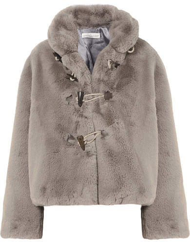 Golden Goose Faux Fur Jacket - Gray