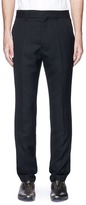 Haider Ackermann Virgin wool basketweave pants