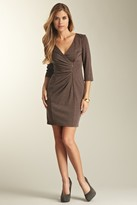 Jessica Simpson V-Neck Sheath Dress JS2P4197