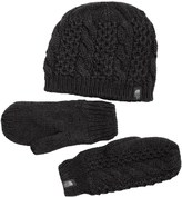 The North Face Mitten and Beanie Set (For Women)