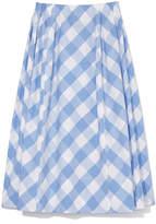 Marni Gingham Cotton Skirt