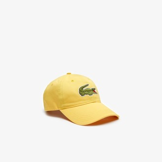Lacoste Men's Oversized-Croc Cap