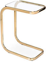 Interlude Saber Hugging Side Table - Brass