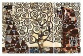 Gustav 1art1 Posters Klimt Poster Art Print - The Fulfillment II (32 x 24 inches)
