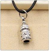 Nobrand No brand Fashion Tibetan Silver Pendant birdcage Necklace Choker Charm Black Leather Cord Handmade Jewlery
