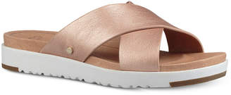 UGG Women Kari Slide Flat Sandals