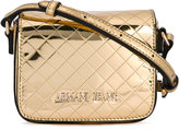 Armani Jeans small quilted logo bag - women - Polyurethane - One Size