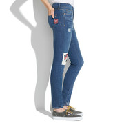 Madewell The Patchwork Edition: Skinny Skinny Jeans
