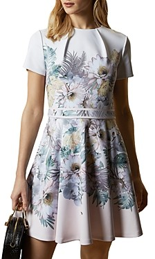 Ted Baker Haylinn Woodland Jersey Skater Dress