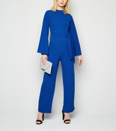 New Look Missfiga High Neck Belted Jumpsuit