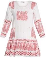 Juliet Dunn Paisley-print cotton kaftan