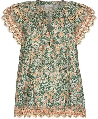 Ulla Johnson Elm floral cotton blouse