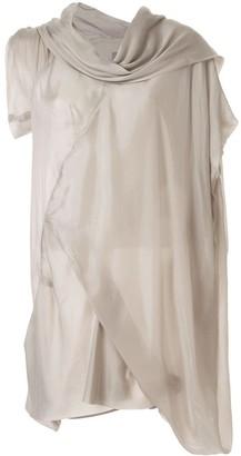 Rick Owens Cyclops asymmetric mini dress