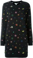 Kenzo floral sweatshirt dress