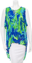 Matthew Williamson Printed Oversized Top
