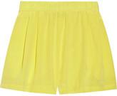 Carnival silk shorts