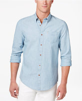 Ben Sherman Men's Backstory Chambray Cotton Shirt