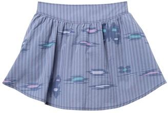 Tea Collection Ikat Striped Shirttail Skirt (Toddler Girls & Little Girls)