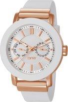Esprit es105622001 40mm Stainless Steel Case Rubber Mineral Women's Watch
